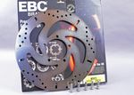 Bonneville Bobber 1200 Front Brake Disc EBC MD873 PLUS Five Free Titanium Disc Bolts!